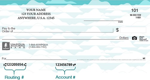 routing number location